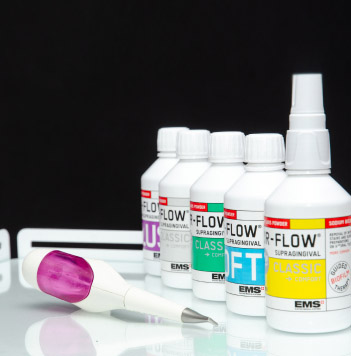 Чистка зубов Air flow, детская стоматология в Запорожье